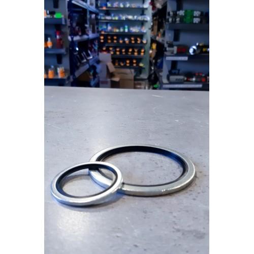 Podkładki metalowo-gumowa SC